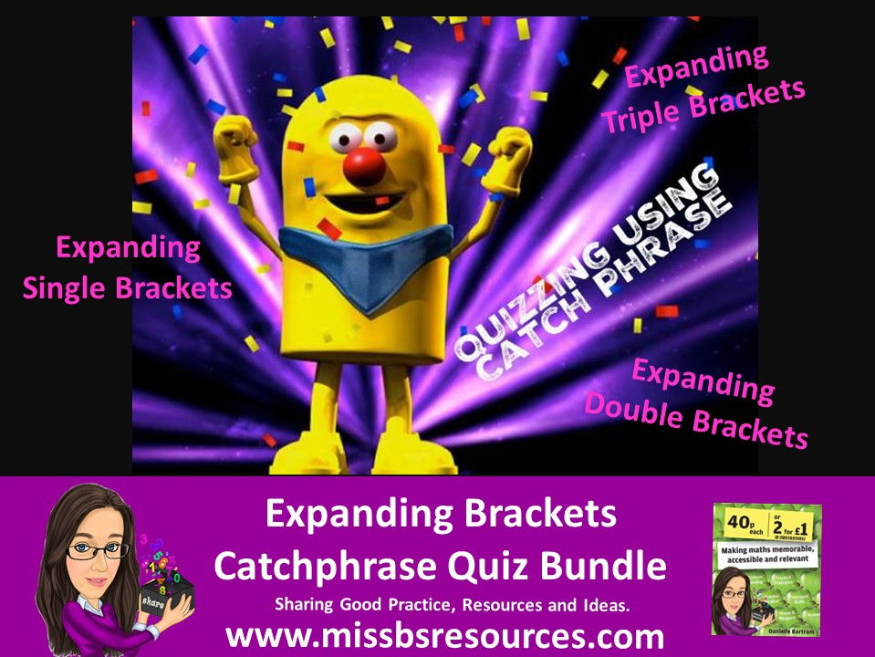 Catchphrase - Expanding Brackets Quiz Bundle