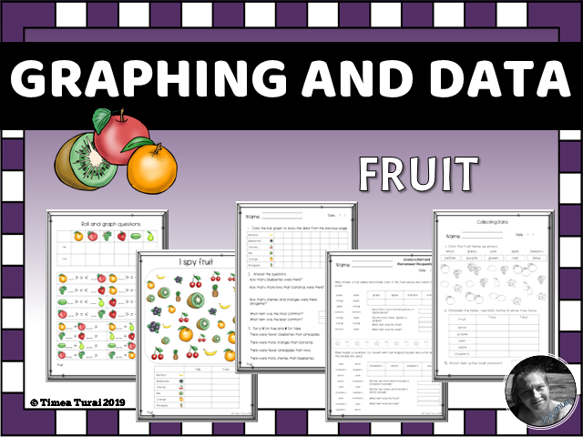 Graphing and Data -- Fruit
