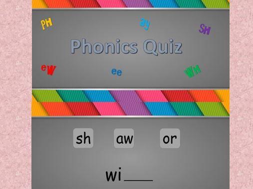 Phonics Quiz