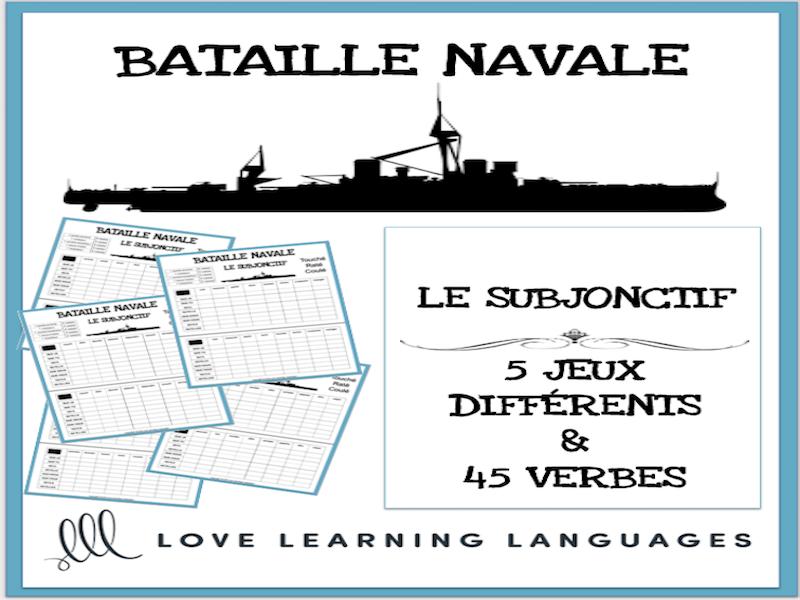 French present subjunctive battleship games