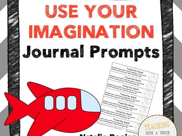 Use Your Imagination Journal: 25 Journal Writing Prompts