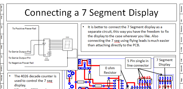 Genie Microcontroller - How 2 - Circuit Diagrams, PCB Layout and Flow charts
