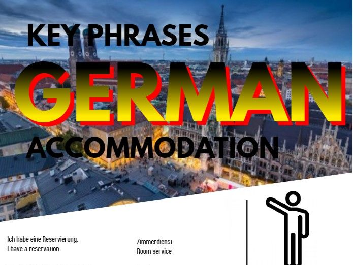 7 well-designed, useful German key phrases revision posters [RANGE OF TOPICS]