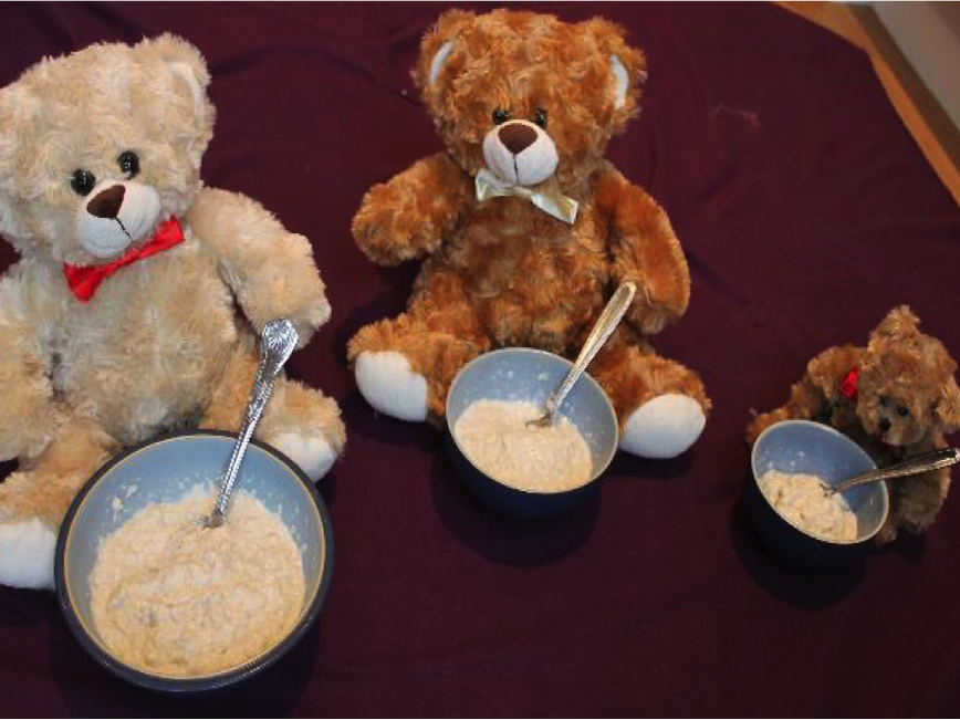 Thinking About Goldilocks and the Three Bears