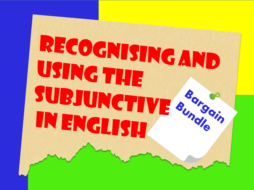 The Subjunctive in English
