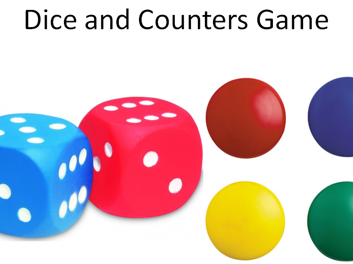 Dice and Counters Probability Game