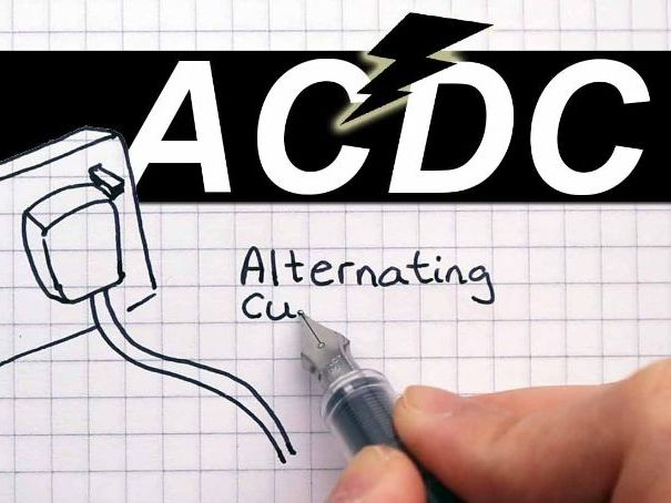 Alternating current VS Direct Current ACDC - Key stage 3 ...