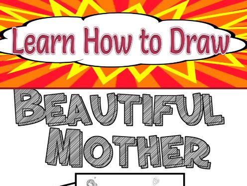 Learn How to Draw Beautiful Mother