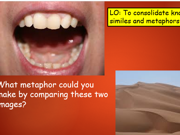 KS2/3 Simile and Metaphor Consolidation