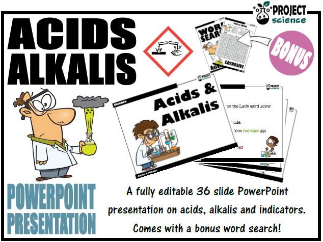 Acids and Alkalis PowerPoint Presentation