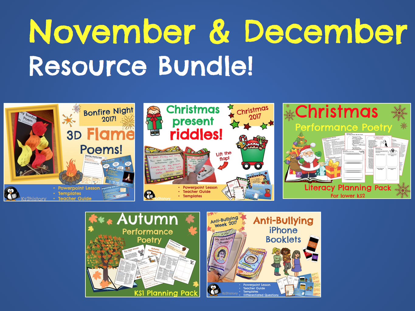 November & December Resource Bundle