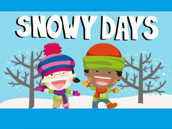 Music video for preschool children - 'Snowy Days'