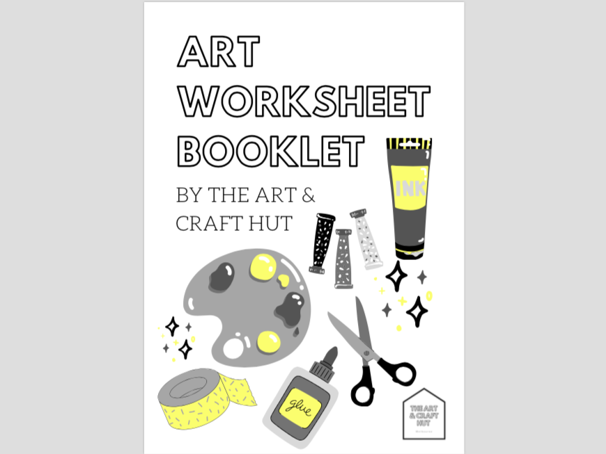 14 Art Primary Worksheets | Analysis, Portfolio Planning, Review, Art Movement, Mediums & Critiques