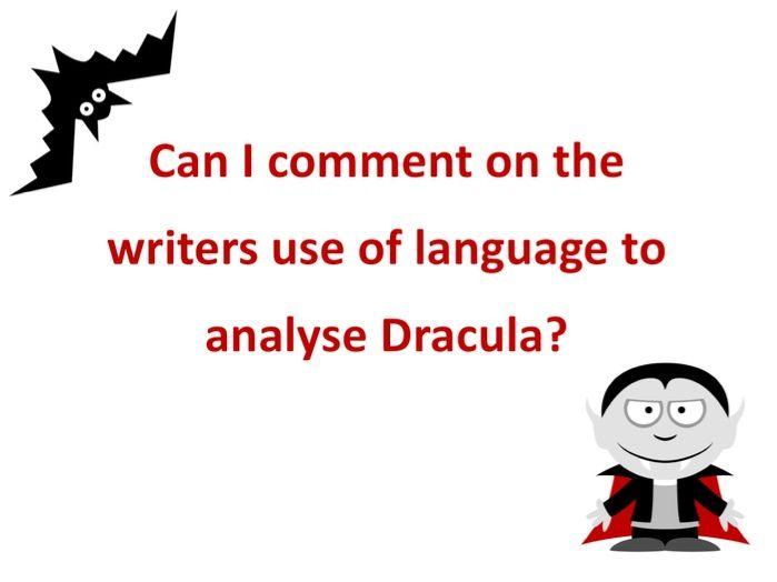 Describing Dracula