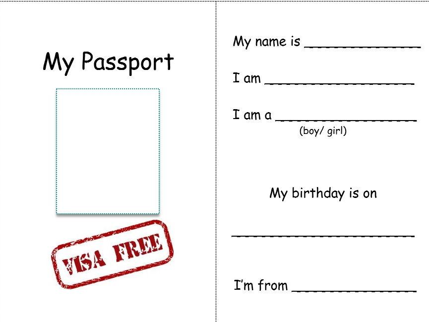 my passport  about me by kuknunn