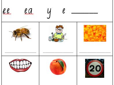Kindergarten/Year 1 Phonics Worksheets Set 4b