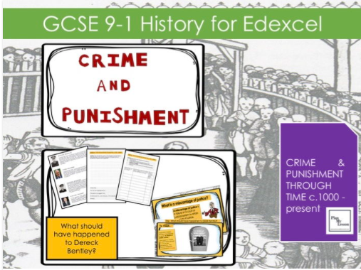 Edexcel GCSE 9-1 Crime & Punishment: Lesson 30 The Derek Bentley case study.