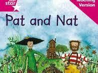 "Rigby Star Pink Level: ""Pat and Nat"" tasks"
