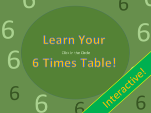 Learn Your 6 Times Table