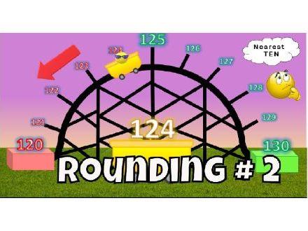 Rounding Roller Coaster Video # 2 - Rounding 3 Digit Numbers Nearest Ten
