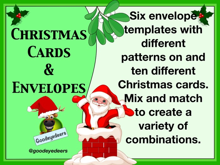 Christmas Cards and Envelopes to Make
