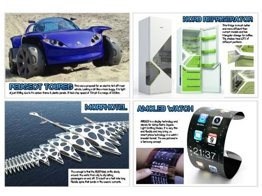 Wall Display - Design Technology - 25 amazing Concept Designs & Prototypes A4