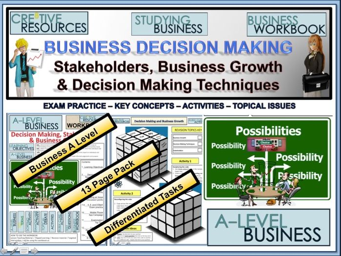 Business Decision Making and Business Growth