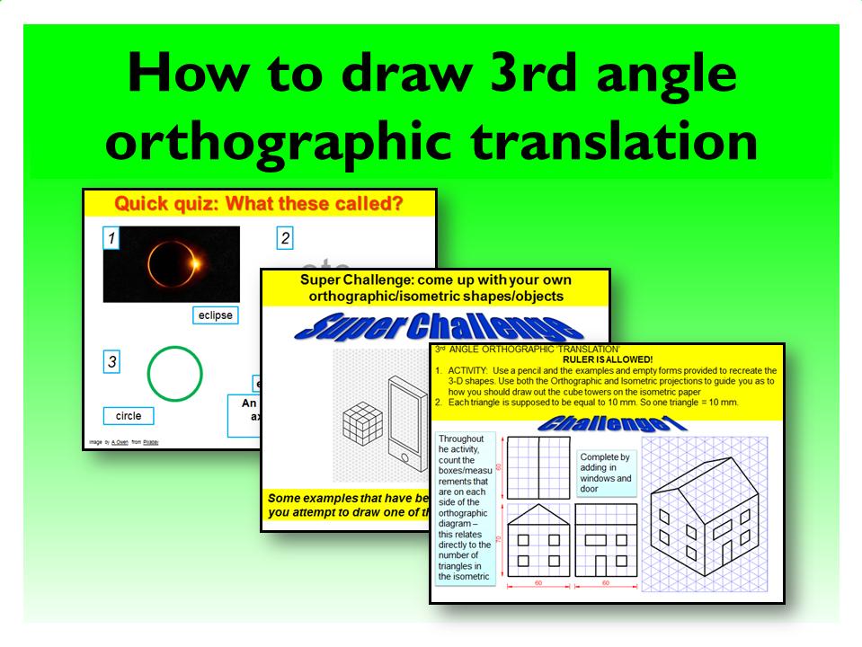 15.G design 3rd Orthographic translation