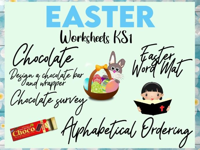 Easter Worksheets KS1