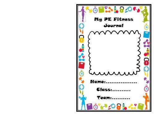 PE fitness journal