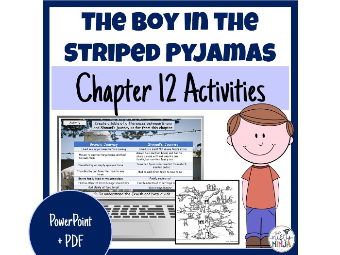 The Boy in the Striped Pyjamas     Chapter 12 Activities