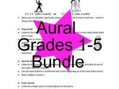 ABRSM Grades 1-5 Aural help sheets