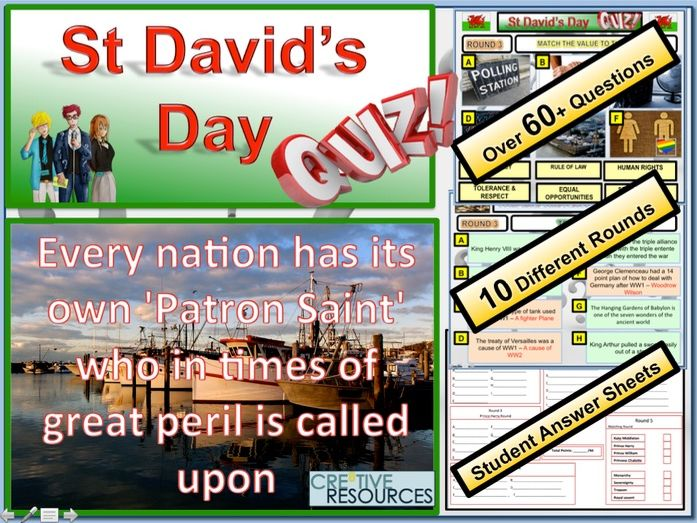 St David's Day Quiz: Patron Saints Quiz