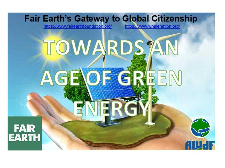 Renewable Energy - Fair Earth Resources
