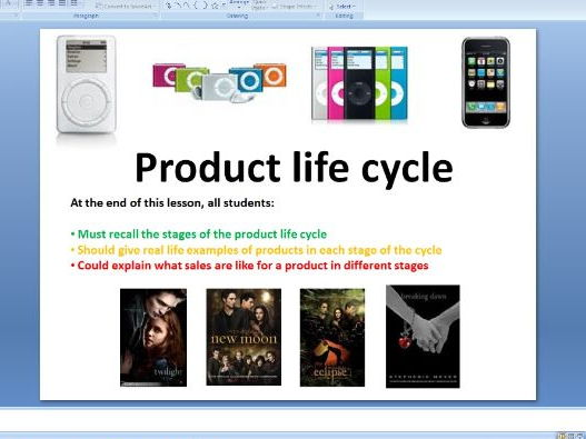 Product life cycle - GCSE Business