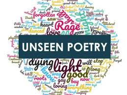 Unseen Poetry lesson