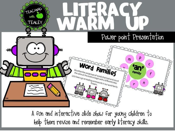 Explicit Teaching Powerpoint - Early Literacy Concepts