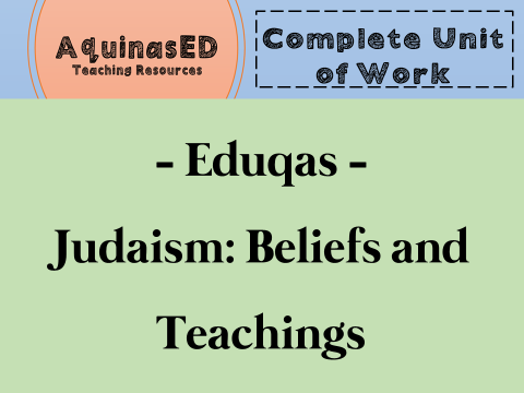 Judaism Beliefs and Teachings Complete Unit