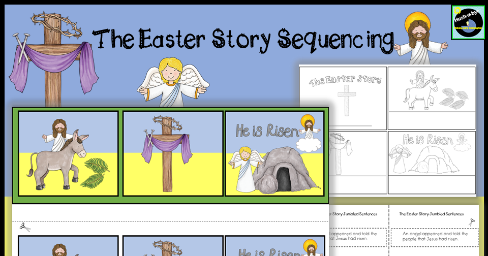 The Easter Story 3 Step Sequencing