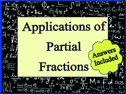 Applications of Partial Fractions
