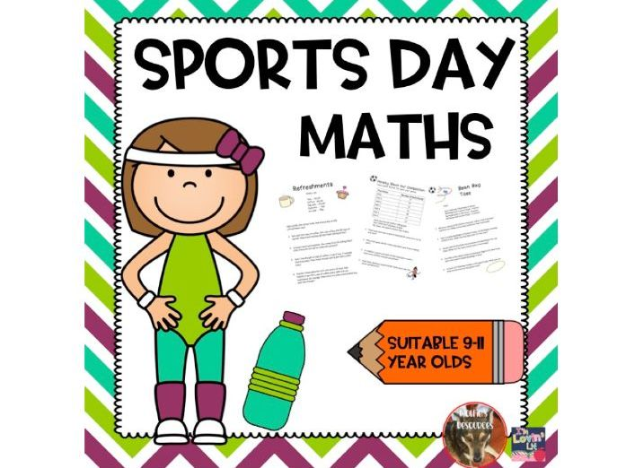 Sports Day Maths Problems UKS2