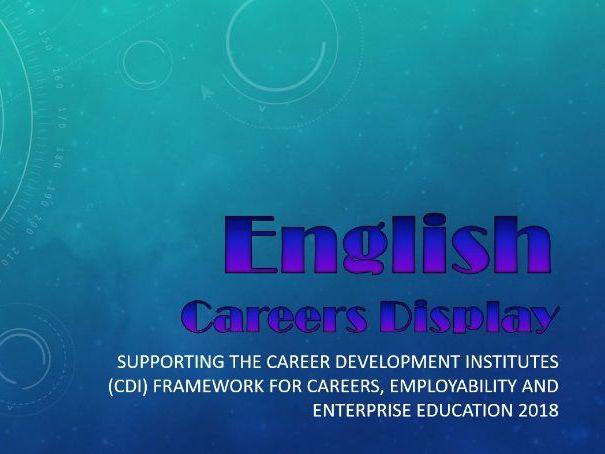 English Careers Display