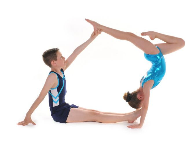 Pair and Trio Gymnastics - Handstand Balances By Head Over Heels Gymnastics