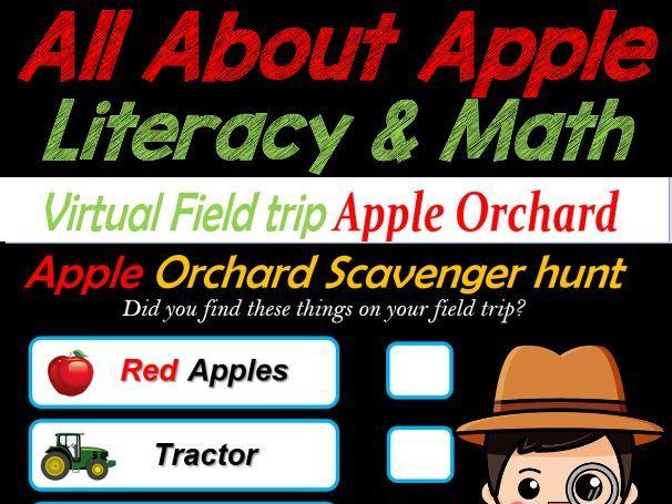 Virtual Field Trip to Apple Orchard   Fun Fridays – 50 Google Slides