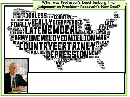 NEW GCSE History AQA 1-9: To what extent did President Roosevelt restore the USA by 1945?
