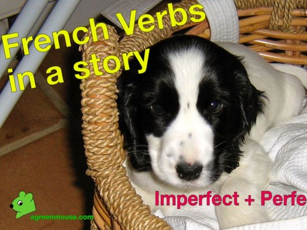 Practice using the Imperfect Tense in French - Video + Worksheet
