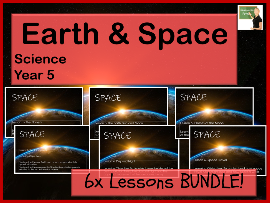 Science- Earth & Space Year 5 BUNDLE!