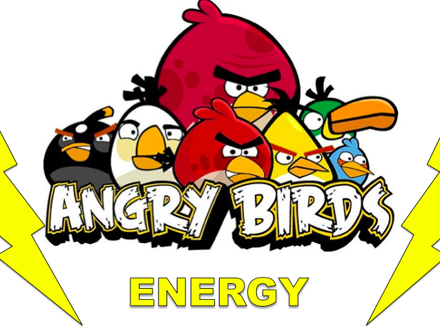 GCSE Physics 9-1 - Energy of angry birds! P1 Conservation and dissipation of energy