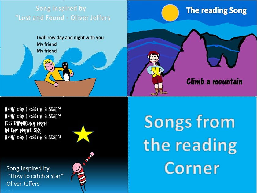 Songs from the reading corner.Video.Mp3.PPT