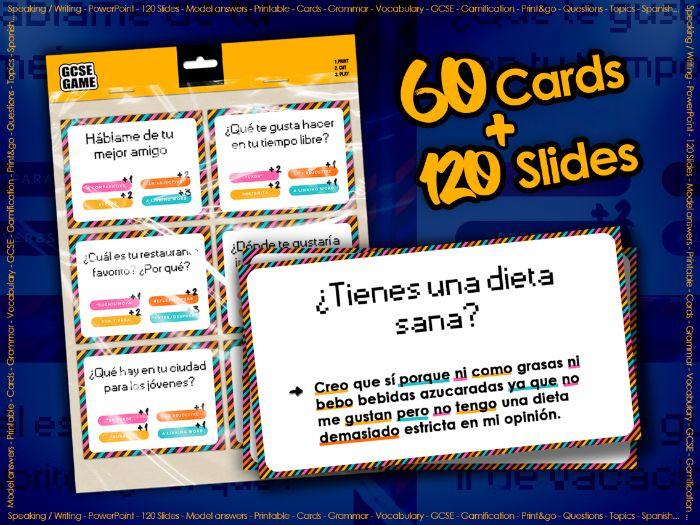 GCSE Card Game